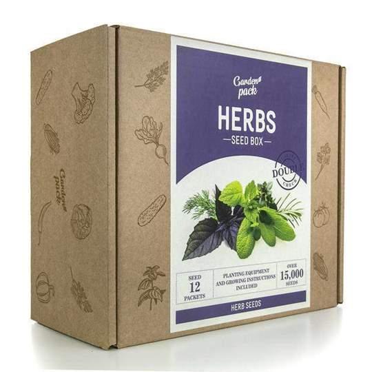 Kit semi erbe aromatiche infusi accessori coltivazione