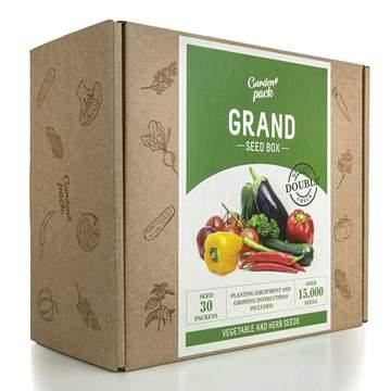 MAXI KIT semi verdure accessori coltivazione