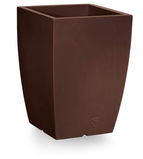 "Picture of Vaso quadrato in resina ""Genesis"" h. 40 cm."